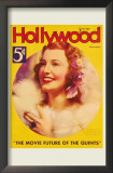 MacDonald, Jeanette - Hollywood Magazine Cover 1930's Prints