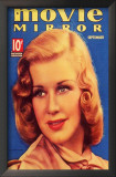 Ginger Rogers - Movie Mirror Magazine Cover 1930's Print