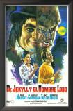 Dr. Jekyll y el Hombre Lobo - Spanish Style Prints
