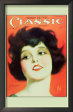 Clara Bow - Motion Picture Classic Magazine Cover 1920's Print