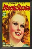 Jean Harlow - Romantic Movie Stories Magazine Cover 1930's Posters
