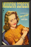 Bette Davis - Modern Screen Magazine Cover 1940's Prints