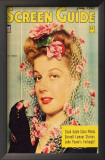 Ann Sheridan - Screen Guide Magazine Cover 1940's Prints