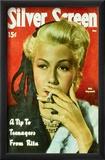 Rita Hayworth - Silver Screen Magazine Cover 1940's Posters