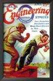 Popular Engineering Stories - Pulp Poster, 1930 Prints