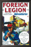Foreign Legion Adventures - Pulp Poster, 1940 Prints