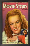 June Haver - Movie Story Magazine Cover 1940's Poster