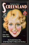 Joan Blondell - Screenland Magazine Cover 1930&#39;s Print