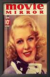 Ginger Rogers - Movie Mirror Magazine Cover 1930's Poster