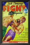 Jack Dempsey's Fight Magazine - Pulp Poster, 1934 Prints