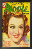 Myrna Loy - Romantic Movie Stories Magazine Cover 1930's Prints