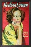 Irene Dunne - Modern Screen Magazine Cover 1930's Print
