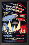 Earth vs. the Flying Saucers Prints