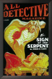 All Detective Magazine - Pulp Poster, 1935 Prints