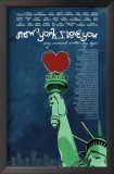 New York I Love You Posters