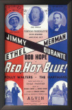 Red, Hot And Blue - Broadway Poster , 1936 Posters