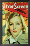 Greta Garbo - Silver Screen Magazine Cover 1940's Prints