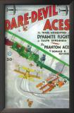 Dare-Devil Aces - Pulp Poster, 1932 Print