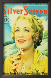 Miriam Hopkins - Silver Screen Magazine Cover 1930's Posters