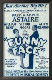 Funny Face - Broadway Poster , 1927 Print