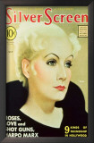 Greta Garbo - Silver Screen Magazine Cover 1940's Posters