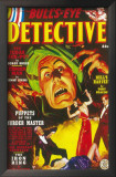 Bull's-Eye Detective - Pulp Poster, 1949 Posters