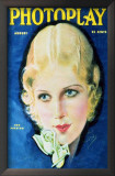 Ann Harding - Photoplay Magazine Cover 1930's Print