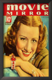 Irene Dunne - Movie Mirror Magazine Cover 1930's Print