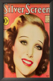 Young, Loretta - Silver Screen Magazine Cover 1930's Art
