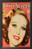Young, Loretta - Silver Screen Magazine Cover 1930's Art