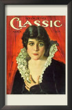 Theda Bara - Motion Picture Classic Magazine Cover 1920's Prints