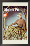 Rita Hayworth - Motion Picture Magazine Cover 1940's Poster