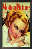 Carole Lombard - Motion Picture Magazine Cover 1930&#39;s Prints