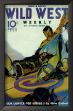 Wild West Weekly - Pulp Poster, 1927 Prints