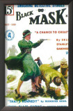 Black Mask - Pulp Poster, 1927 Prints