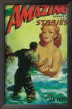 Amazing Stories - Pulp Poster, 1935 Art