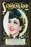 Claudette Colbert - The New Movie Magazine Cover 1930&#39;s Posters