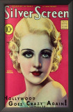 Carole Lombard - Silver Screen Magazine Cover 1930's Prints