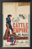 Cattle Empire Posters