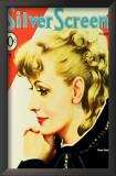 Greta Garbo - Silver Screen Magazine Cover 1930's Posters