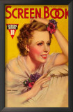 Irene Dunne - Screen Book Magazine Cover 1930's Prints