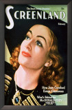 Joan Crawford - Screenland Magazine Cover 1940's Prints