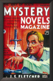 Mystery Novels Magazine - Pulp Poster, 1934 Poster