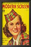 Deanna Durbin - Modern Screen Magazine Cover 1930's Posters