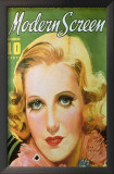 Jean Arthur - Modern Screen Magazine Cover 1930's Prints