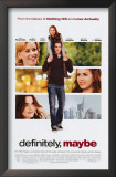 Definitely, Maybe Posters