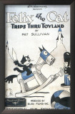 Felix the Cat Trips Thru Toyland Poster