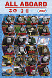 Thomas & Friends - Profile Prints