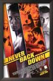Never Back Down Art