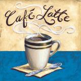 Café Latte Poster by Karen Bates